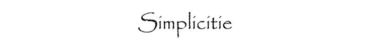 SIMPLICITIE - orangeshine.com