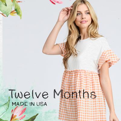 TWELVE MONTHS APPAREL - orangeshine.com