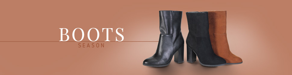 Fall Boots in Style on OrangeShine for Wholesale Shoes