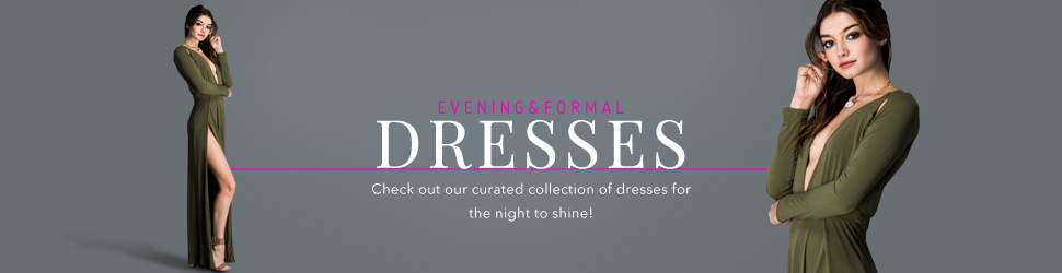 Formal and Evening Wholesale Dresses on OrangeShine