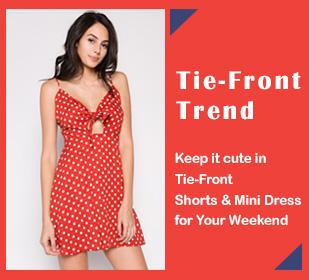 Tie-Front Trend - orangeshine.com TREND.